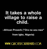 African proverb of the day 03/10/2015