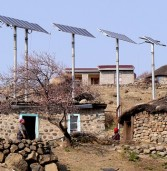 Rural communities connected to electricity grid