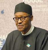 Buhari rubbishes currenty devaluation, as Nigeria seeks to boost business with Kenya