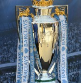 Barclays Premier League cup in Cape Town