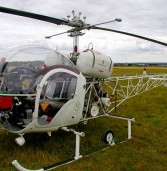 African welder builds helicopter from scrap metal