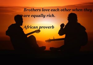 Each other love Brothers