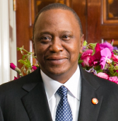 Uhuru Kenyatta in Botswana for trade talks