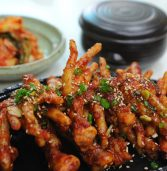 African recipe: chicken feet