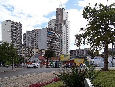 Buildings in Maputo