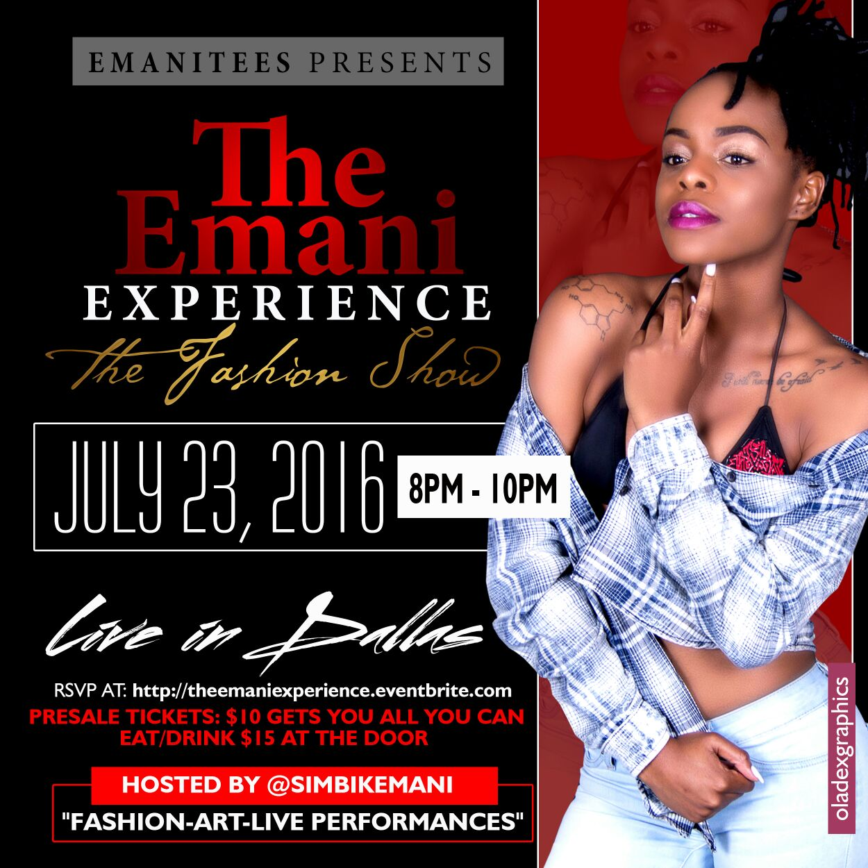 Simbi K. Emani to host multicultural fashion show in Dallas, Texas USA