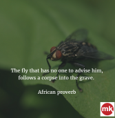 African Proverb of the Day 20/09/2016
