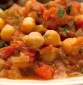 African recipe: Moroccan chickpea stew