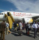 Continental airline fastjet to suspend flights on three routes