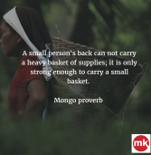 African proverb of the day 06/11/2016