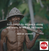 African proverb of the day 19/11/2016