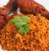 African recipe: Jollof rice