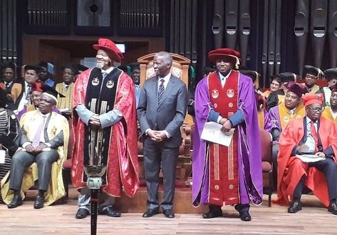 Thabo Mbeki inaugurated as new UNISA Chancellor