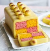 Easter recipe: Simnel Battenberg cake