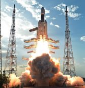 India launched a mega-rocket to space