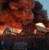 Fire destroys Zambia's biggest trading hub, City Market