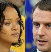 Rihanna meets Macron to discuss educational charity