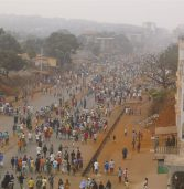 Thousands march against Guinea's president