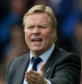 Everton fire manager, Ronald Koeman