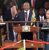 Kenya's president sworn-in as police block rival opposition meeting