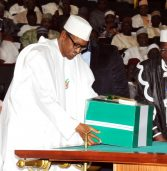 Buhari presents record $28 billion budget to legislators