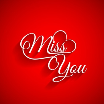 Short 'I miss you' messages for her