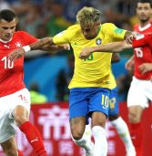 Swiss equalise Coutinho opener, Germany see black