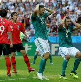 Germans suffer humiliating exit