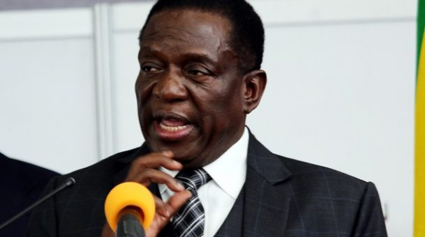 Zimbabwean president considers tax incentives to entice investors