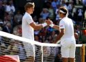Anderson defeats Federer in Wimbledon quarter-final