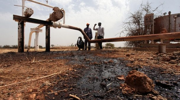 South Sudan starts repairs of war damaged oil wells