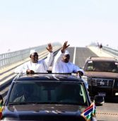 Bridge connecting Gambia and Senegal opens