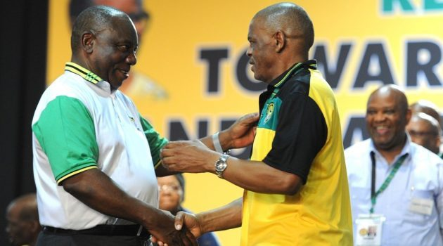 Magashule to fire Ramaphosa – ANC infighting
